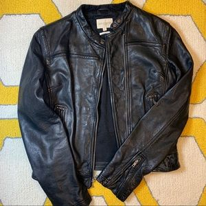 HOLD Levi's Made & Crafted Leather Jacket Size 2